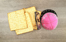 Holiday jewish judaism matza kosher pesachah torah Stock Images