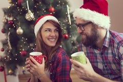 Holiday joy stock image