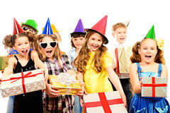 Holiday kids stock photography