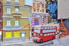 Holiday kids shop display Stock Image