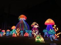 Holiday lanterns Royalty Free Stock Image