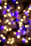 Holiday light Stock Image