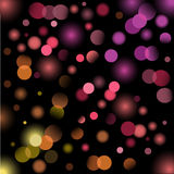 Holiday light background. With rainbow colors Royalty Free Stock Photography