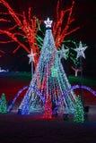 Holiday Light Display Stock Photos