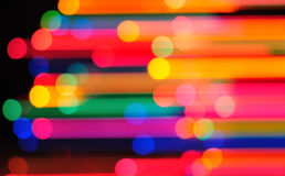 Holiday lighting Stock Photography