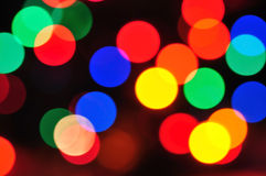 Holiday lighting Royalty Free Stock Images