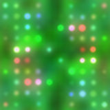 Holiday Lights. Abstract design of holidays lights blur background in green and muliticolors. Nice Christmas backdrop royalty free illustration