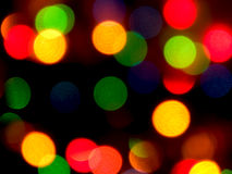 Holiday lights Stock Images