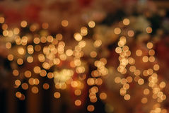 Holiday lights backgrounds Stock Photo