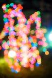 Holiday lights boke Royalty Free Stock Photos