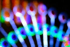 Holiday lights boke Royalty Free Stock Image