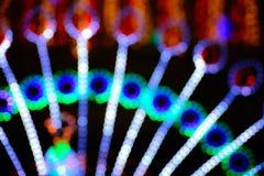Holiday lights boke Stock Image