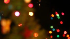 Holiday lights stock video