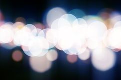 Holiday lights- can be used for background Royalty Free Stock Photo