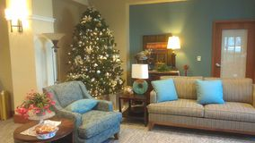 Holiday Lobby Stock Photography