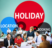 Holiday Location Booking leisure Happiness Celebration Concept Royalty Free Stock Photography