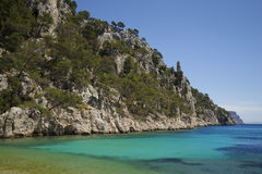 Holiday location Cote dAzur in France Stock Photos