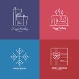 Holiday Logos Royalty Free Stock Image