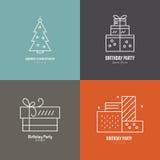 Holiday Logos Stock Photography