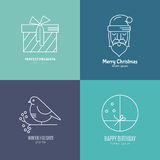Holiday Logos Stock Images