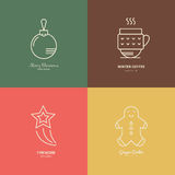 Holiday Logos Royalty Free Stock Photo