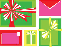 Holiday mail Royalty Free Stock Photos