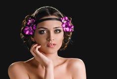 Holiday Makeup Stock Image