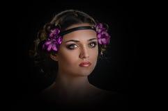 Holiday Makeup Royalty Free Stock Photo