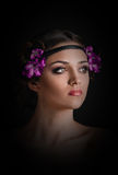 Holiday Makeup Royalty Free Stock Images