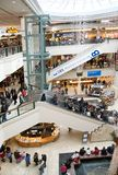 Holiday Mall Shopping Royalty Free Stock Images