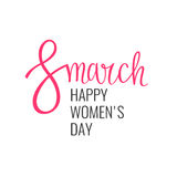 Holiday 8 March. Happy women s day. Royalty Free Stock Photography
