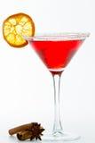 Holiday Martini Royalty Free Stock Photography