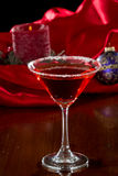 Holiday Martini Stock Photo