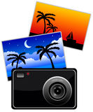 Holiday memories Stock Image
