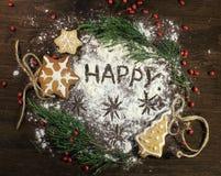 Holiday merry christmas Stock Photography