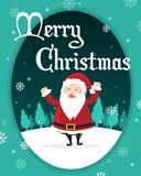 Holiday Merry Christmas Party Poster Stock Photo