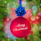 Holiday Merry Christmas party template. EPS 10 Stock Photos