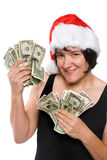Holiday money Stock Image