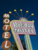 Holiday Motel Las Vegas Stock Image