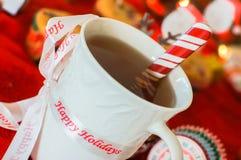Holiday mug Royalty Free Stock Images