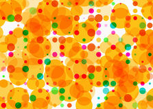 Holiday multicolored rounds bokeh backgrounds in Chaotic Arrange Royalty Free Stock Images