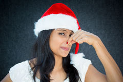 Holiday nastiness Stock Images