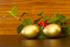 Holiday nest eggs Stock Image