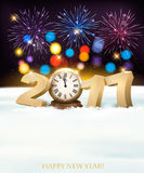 Holiday New Year`s background Stock Image