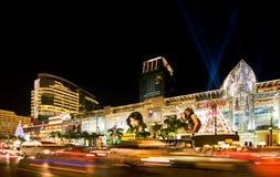 Holiday night Bangkok Royalty Free Stock Photo