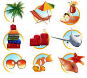 Holiday objects Royalty Free Stock Photography