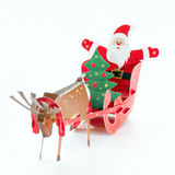 Holiday origami Royalty Free Stock Photo