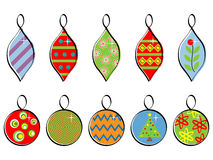 Holiday Ornaments Stock Photos