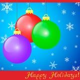Holiday Ornaments Royalty Free Stock Image