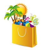 Holiday packing Royalty Free Stock Image